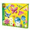 SES Creative® støpte glitter sommerfugler