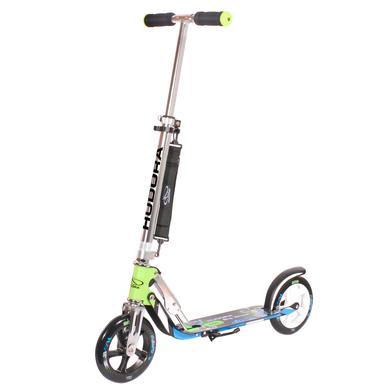 Big Wheel step Hudora 205 mm groen/blauw