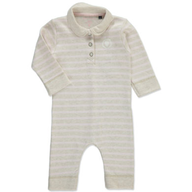 MARC O`POLO Girls Mini Overal beige melange - béžová