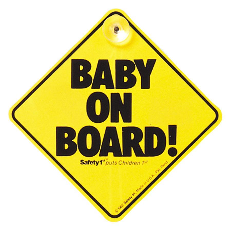 """Safety 1st """"Baby On Board´´ - Schild"""