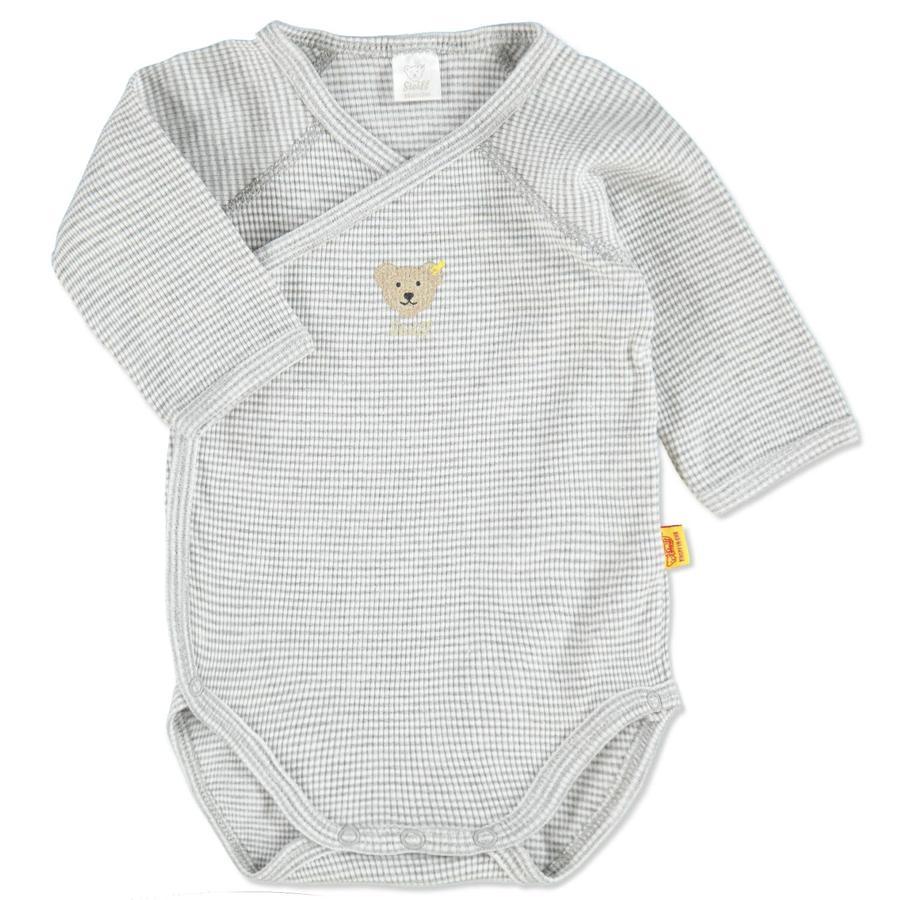 STEIFF Baby Wickelbody 1 1 Arm grey melange