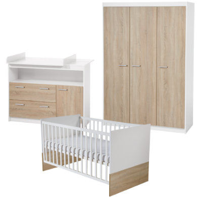 Babyzimmer - roba Kinderzimmer Gabriella 3 türig breit  - Onlineshop Babymarkt