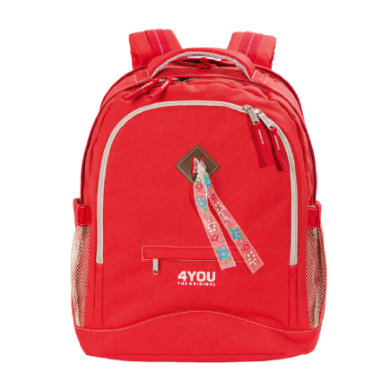 4YOU Flash Rucksack Compact, 236 44 Just Red