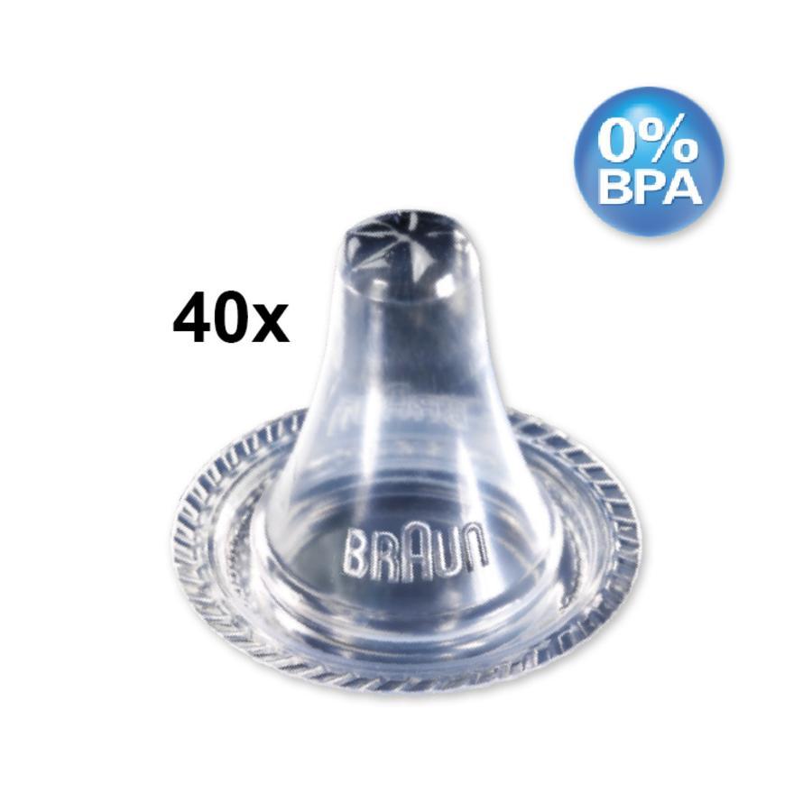 BRAUN ThermoScan Schutzkappen für alle Braun Thermoscan Ohr-Thermometer