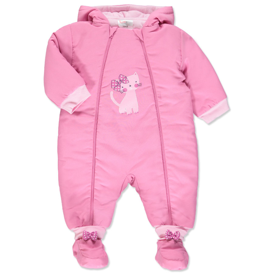 pink or blue Girls Winter Schneeoverall Kitty pink