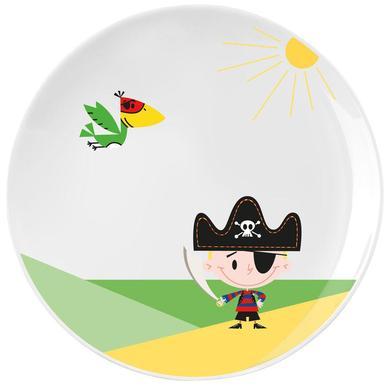 P:OS Trzyczęściowy zestaw śniadaniowy porcelanowy Pirat Paul