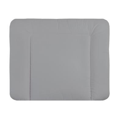 Wickelmöbel und Zubehör - JULIUS ZÖLLNER Wickelauflage Softy Stoff silver grau  - Onlineshop Babymarkt