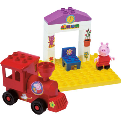 BIG PlayBIG Bloxx Peppa Pig - Train Stop