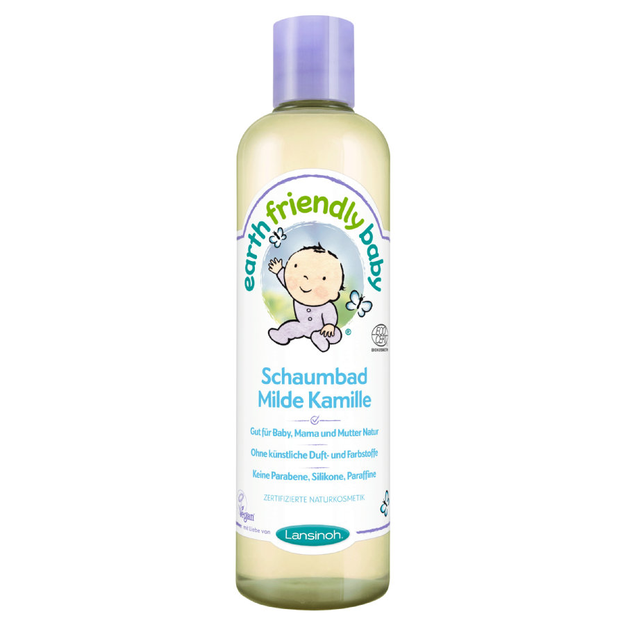 Lansinoh Earth Friendly Baby® Schaumbad Milde Kamille 300 ml