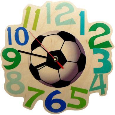 Uhren - Hess Wandquarzuhr Fußball bunt  - Onlineshop Babymarkt