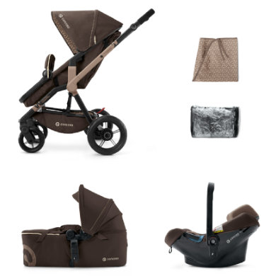 CONCORD Wóżek spacerowy Wanderer Mobility Chocolate Brown