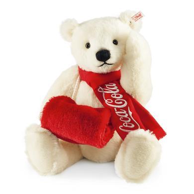 STEIFF Miś polarny Coca-Cola 38 cm