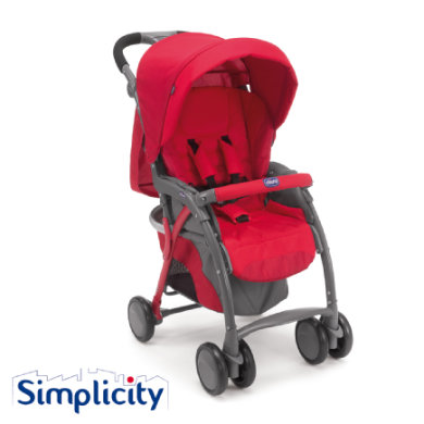 CHICCO Buggy Simplicity Plus Top RED