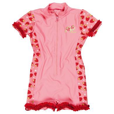 Minigirlbademode - Playshoes UV–Schutz Einteiler Erdbeeren - Onlineshop Babymarkt