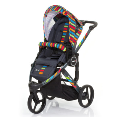 ABC Design  Cobra plus 2015 RAINBOW - pestrobarevná