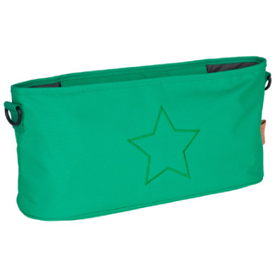 L�SSIG Buggy Organizer Star Deep Green
