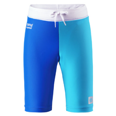 Reima  Boys UV Swim Shorts ZANZIBAR mid blue - pestrobarevná