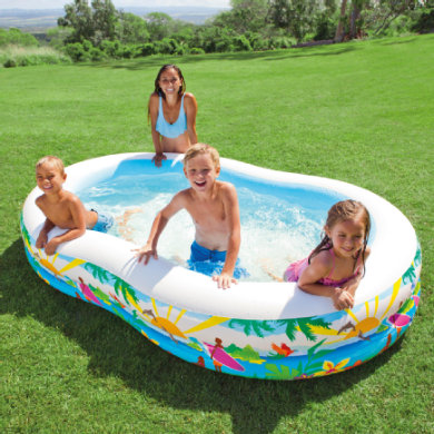 INTEX Basen Swim Center™ Paradise Pool
