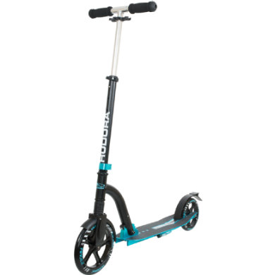 Hudora Scooter Big Wheel Bold Cushion, türkis schwarz 14243