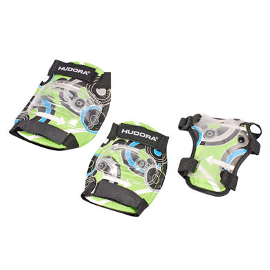 Fürinliner - Hudora ® Protektoren Set Green Style, Gr. S 83340 - Onlineshop