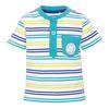 s.OLIVER Boys Baby Tričko white stripes