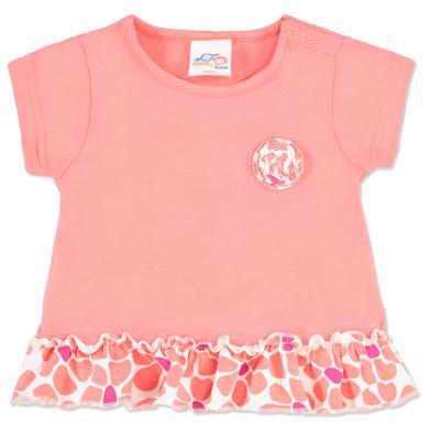 Image of anna & tom Girls Shirt Flamingo rosa, Rüschen