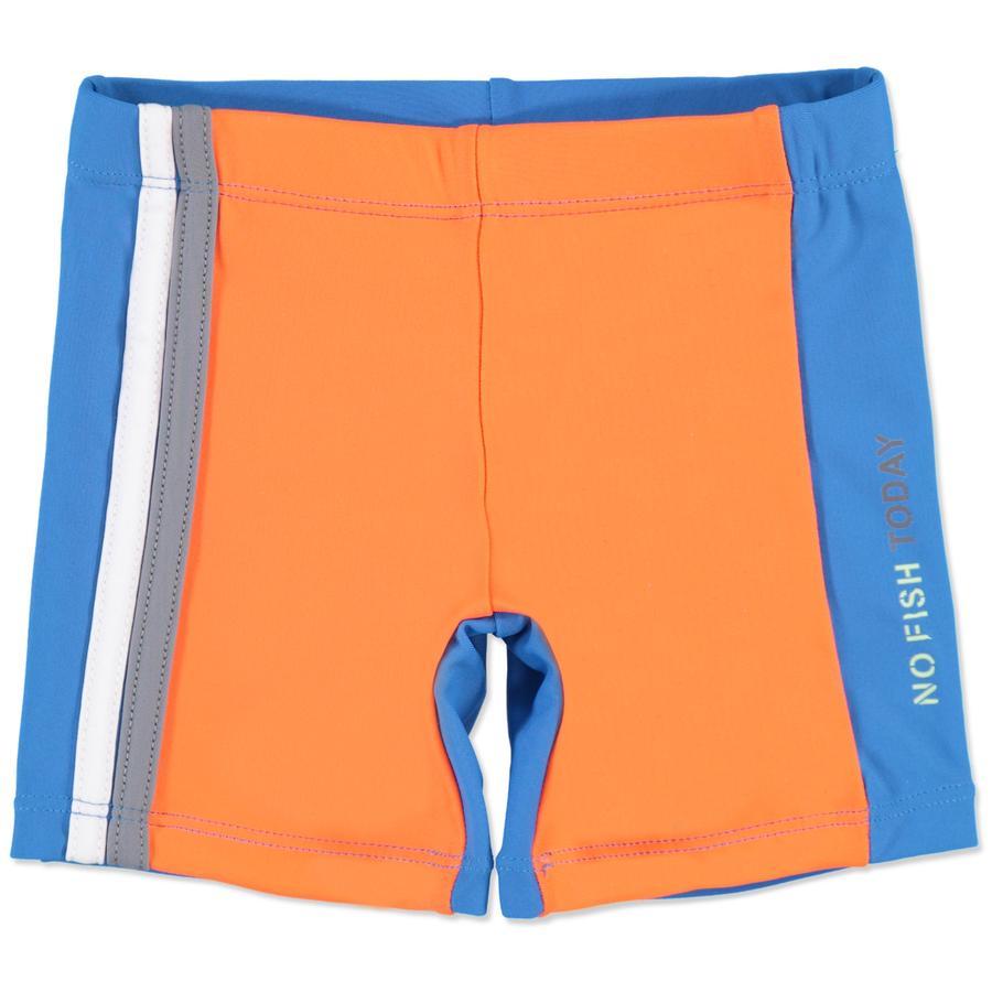 anna tom Boys UV Schutz Badeshorts blau, orange