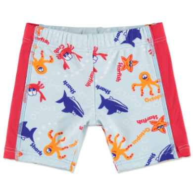 anna tom Boys UV Schutz Badeshorts Tiermotive rot, blau Jungen