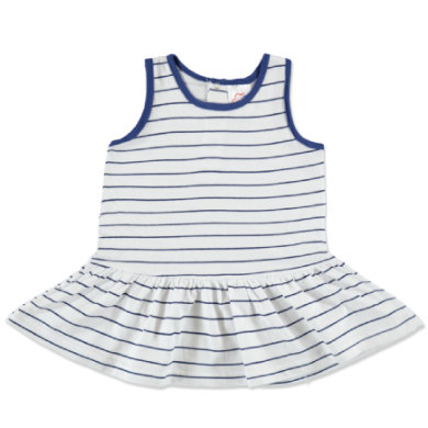 anna & tom Mini Girls Sukienka w paski kolor niebieski