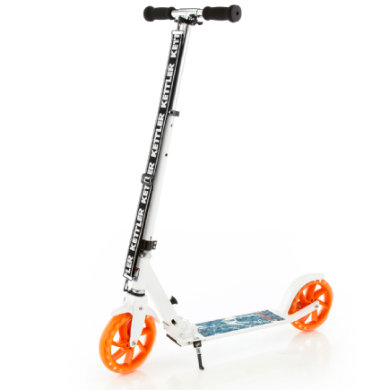 KETTLER Alu Roller Scooter Zero 8 Authentic Blue weiß