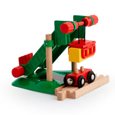 Brio ® WORLD Bahn Heuballen-Verladestation 33792