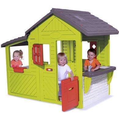Spielhäuser und Sandkästen - Smoby Spielhaus Neo Floralie Haus  - Onlineshop Babymarkt
