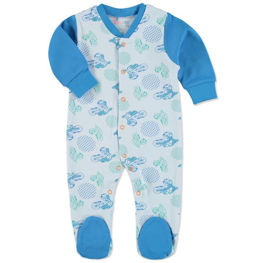 pink or blue Boys Baby Schlafoverall Dreirad hellblau