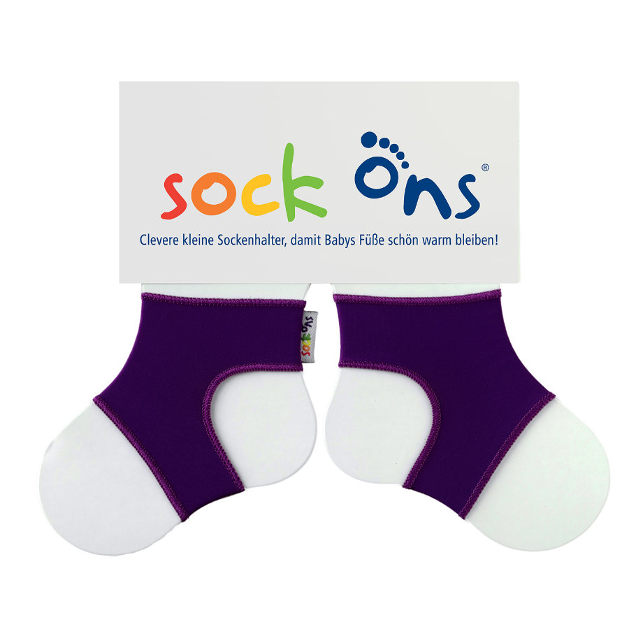 SOCK ONS Brights Sockenhalter purple