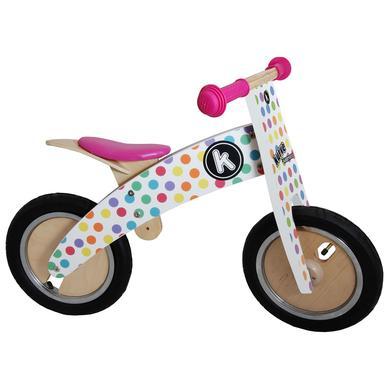 kiddimoto® Premium Laufrad KURVE Pastell Dotty
