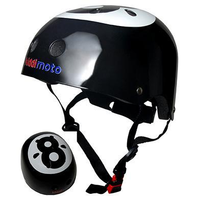 kiddimoto ® Helm Design Sport, Billardkugel Gr. S, 48 53cm schwarz