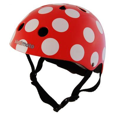 Fürfahrräder - kiddimoto® Fahrradhelm Red Dotty S - Onlineshop