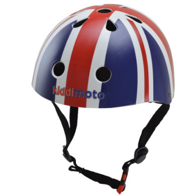 kiddimoto ® Helm Design Sport, Union Jack BritPop Gr. S, 48 53 cm bunt
