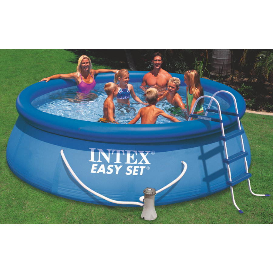 intex easy pool set 244 preisvergleich die besten. Black Bedroom Furniture Sets. Home Design Ideas