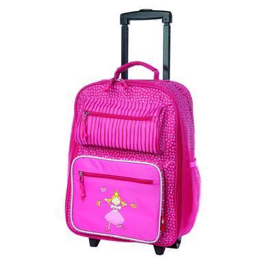 dc0f3c6a30c27 Sigikid Trolley Pinky Queeny - růžovápink eshop >>. Skvělý dětský kufr ...
