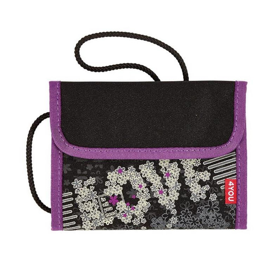 4YOU Flash Money Bag, 494-47 Love is all