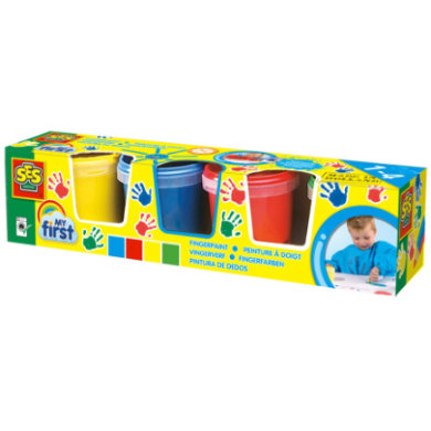 SES Creativ e® My first - Finger paint 4x150 ml