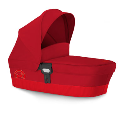 Image of cybex GOLD Kinderwagenaufsatz Carry Cot M Hot & Spicy-red - rot