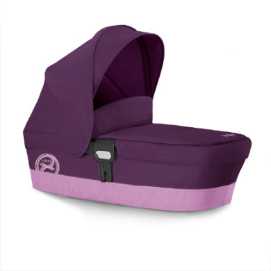 Image of cybex GOLD Kinderwagenaufsatz Carry Cot M Grape Juice-purple - lila