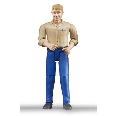 BRUDER® Tillbehör - Man med blå byxor