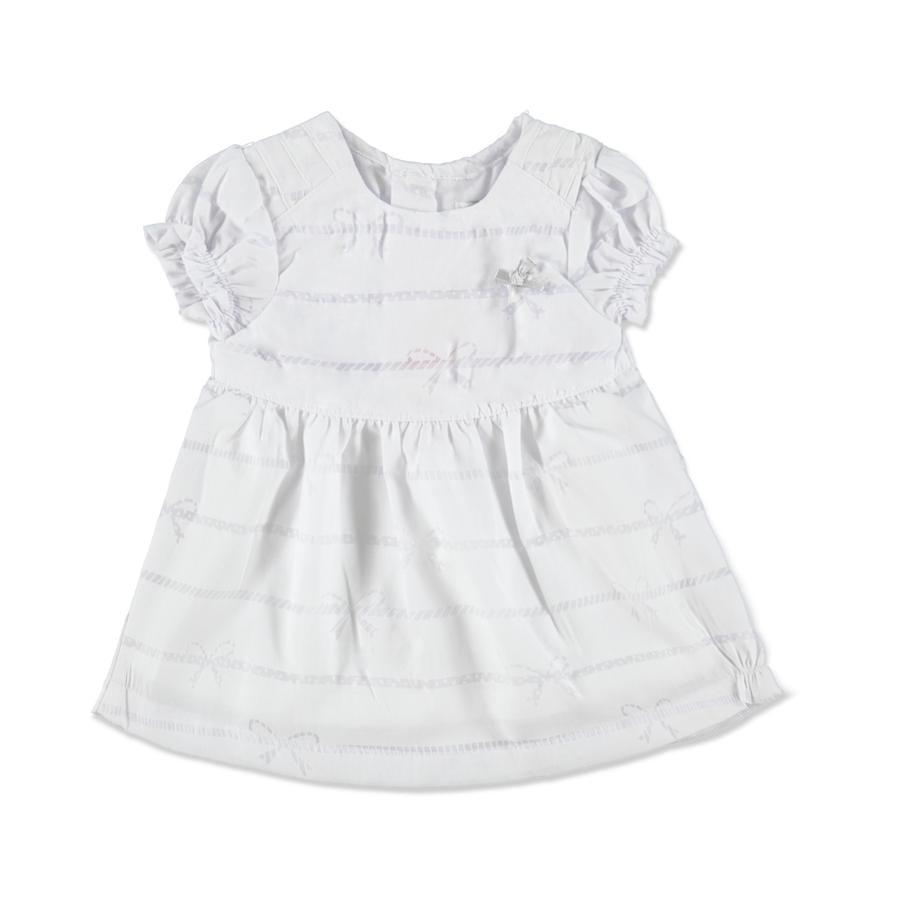 KANZ Girls Mini Kleid bright white