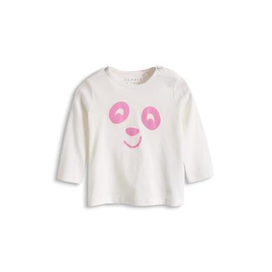 Esprit Newborn Girls Longsleeve Off White 2 - weiß