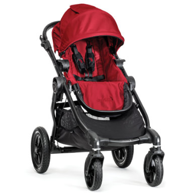 Baby Jogger Buggy City Select 4 wheeler red
