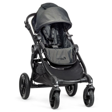 Baby Jogger City Select black  denim 2015 - černá
