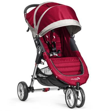 Baby Jogger Buggy City Mini 3 wheeler crimson-gray